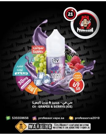 CV Grapes & Berries Ice 30ml 30mg
