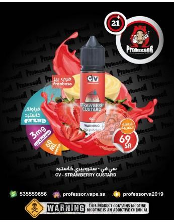 CV Woah Mama Strawberry Custard 60ml 3mg