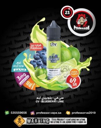 CV Blueberry Lime 60ml 3mg
