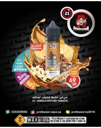 CV Vanilla Custard Tobacco 60ml 3mg