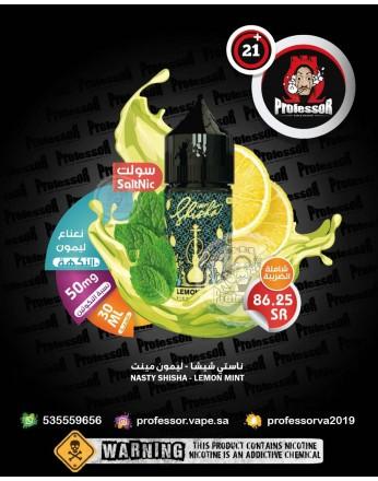 Nasty Shisha Lemon Mint 30ml 50mg